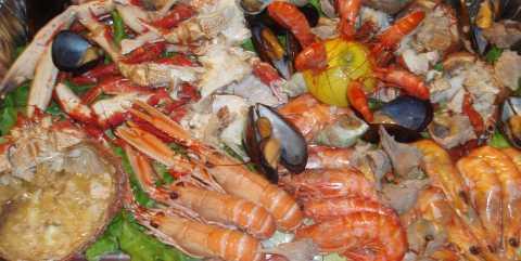 Atlantic diet sea food
