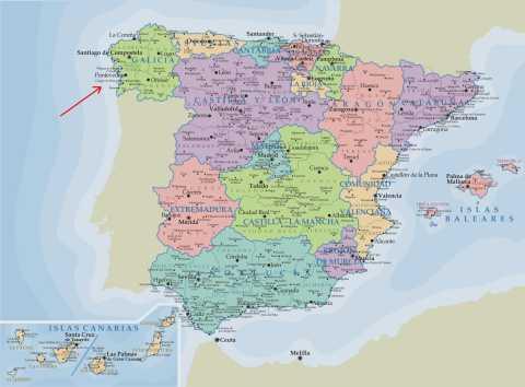 Atlantic diet cradle: Galicia, located in the north of Spain