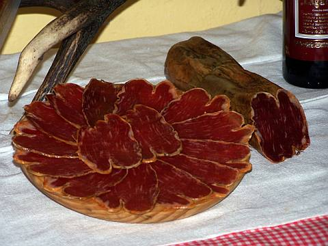 The cured ham or lomo iberico are also part of the Mediterranean Diet