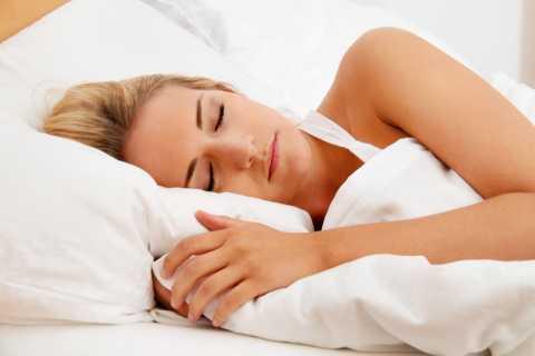 Girl having a pleasant sleep