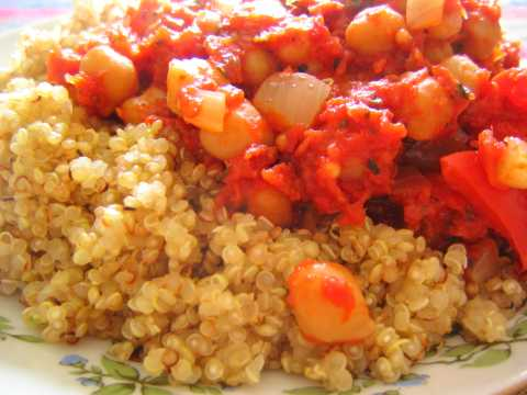 A Quinoa preparation