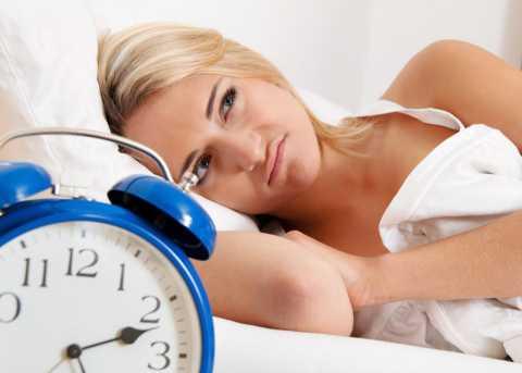 A girl cannot sleep